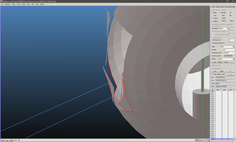 Creating Curved Facets